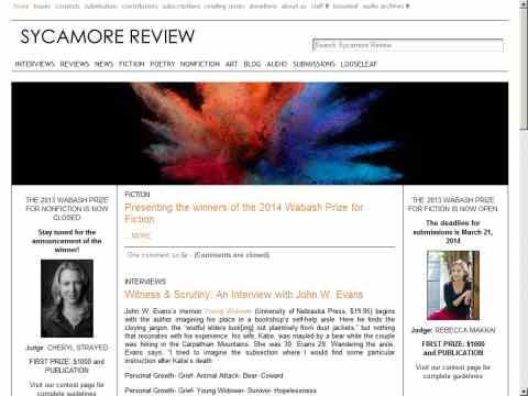 Sycamore Review - image 11