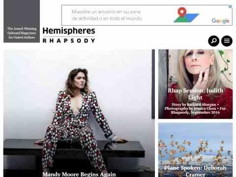 Hemispheres Magazine Submission Guidelines | HeyPublisher